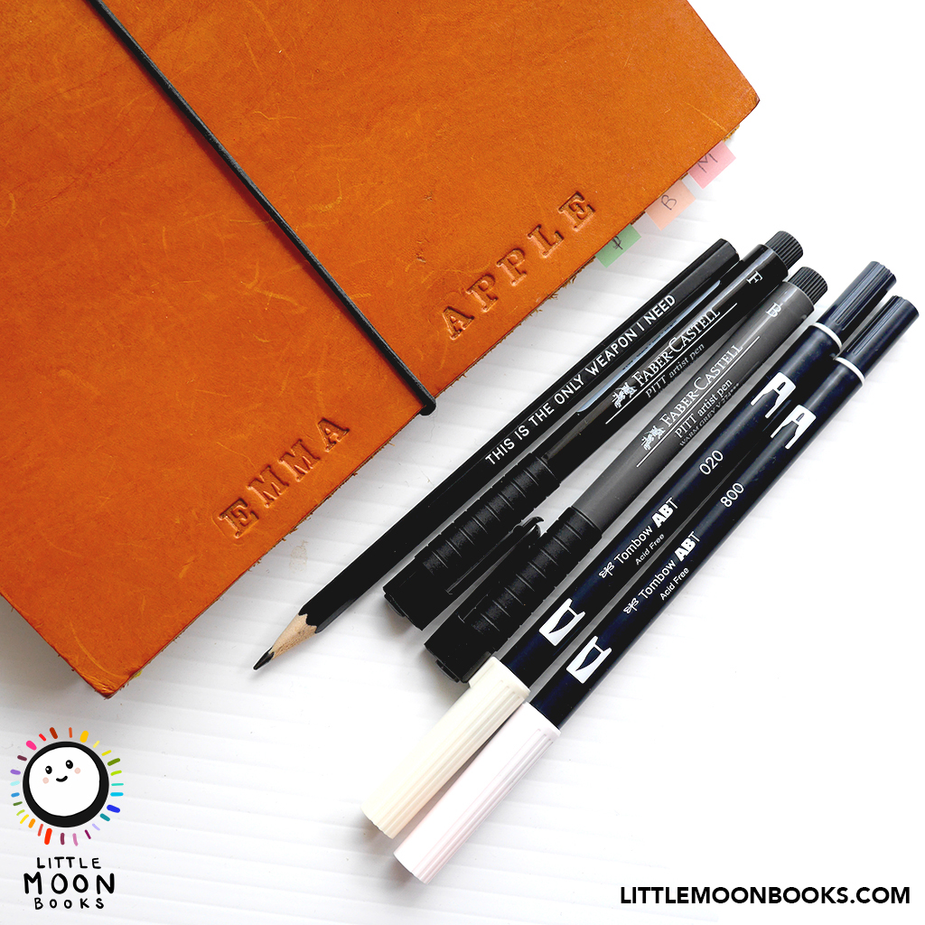 The Tools of a Children's Illustrator by Emma Apple